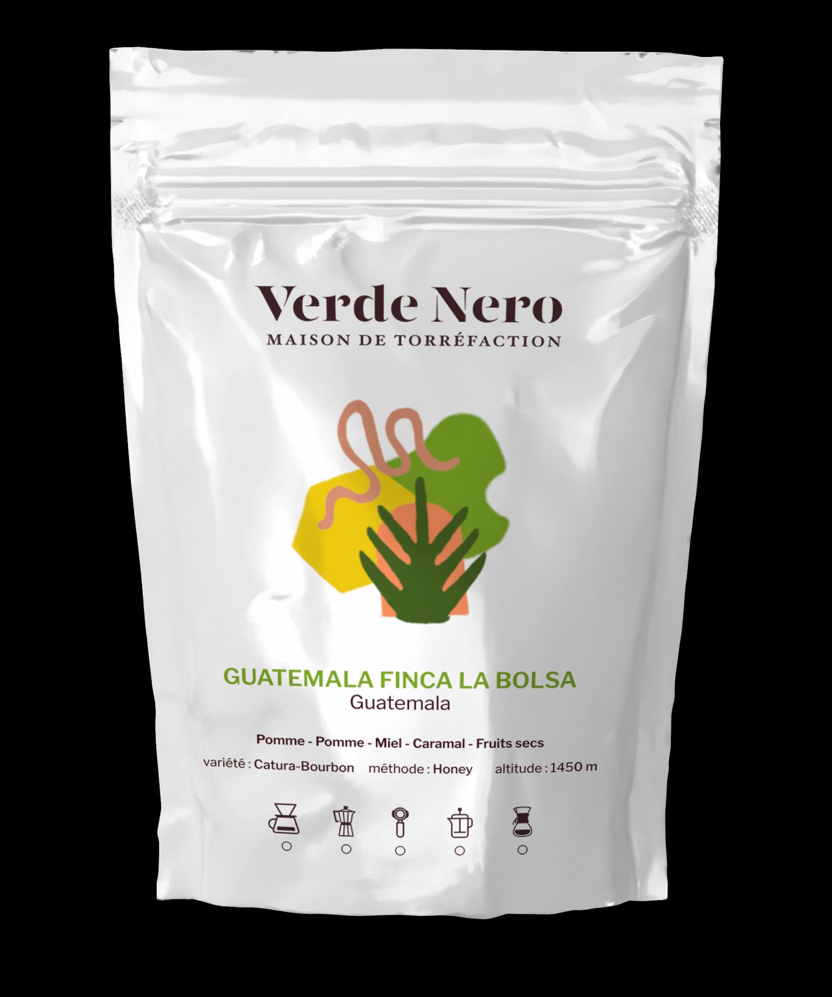 Verde Nero Café - Guatemala Finca la Bolsa