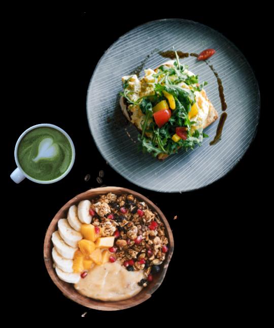 Verde Nero Café - Formule Faim de Loup